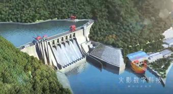 黄龙滩水力发电厂预演