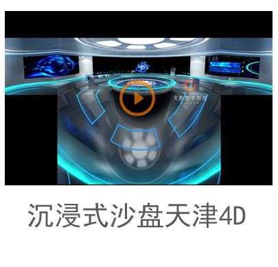 cave沉浸式互动沙盘天津4D