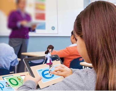 AR互动拼音动画课《精灵学院》 | 一起